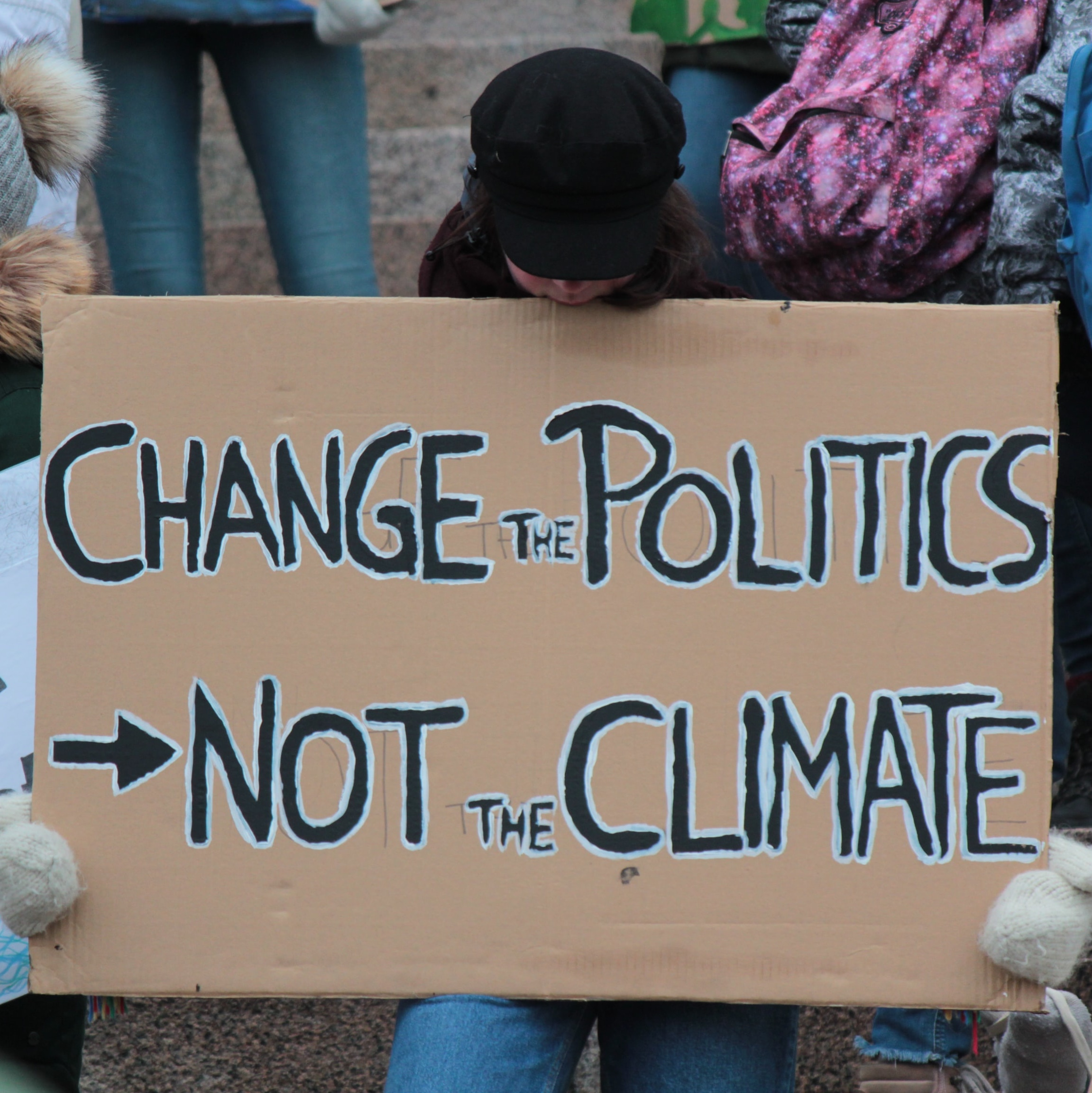 Change the politics, not the climate protest banner