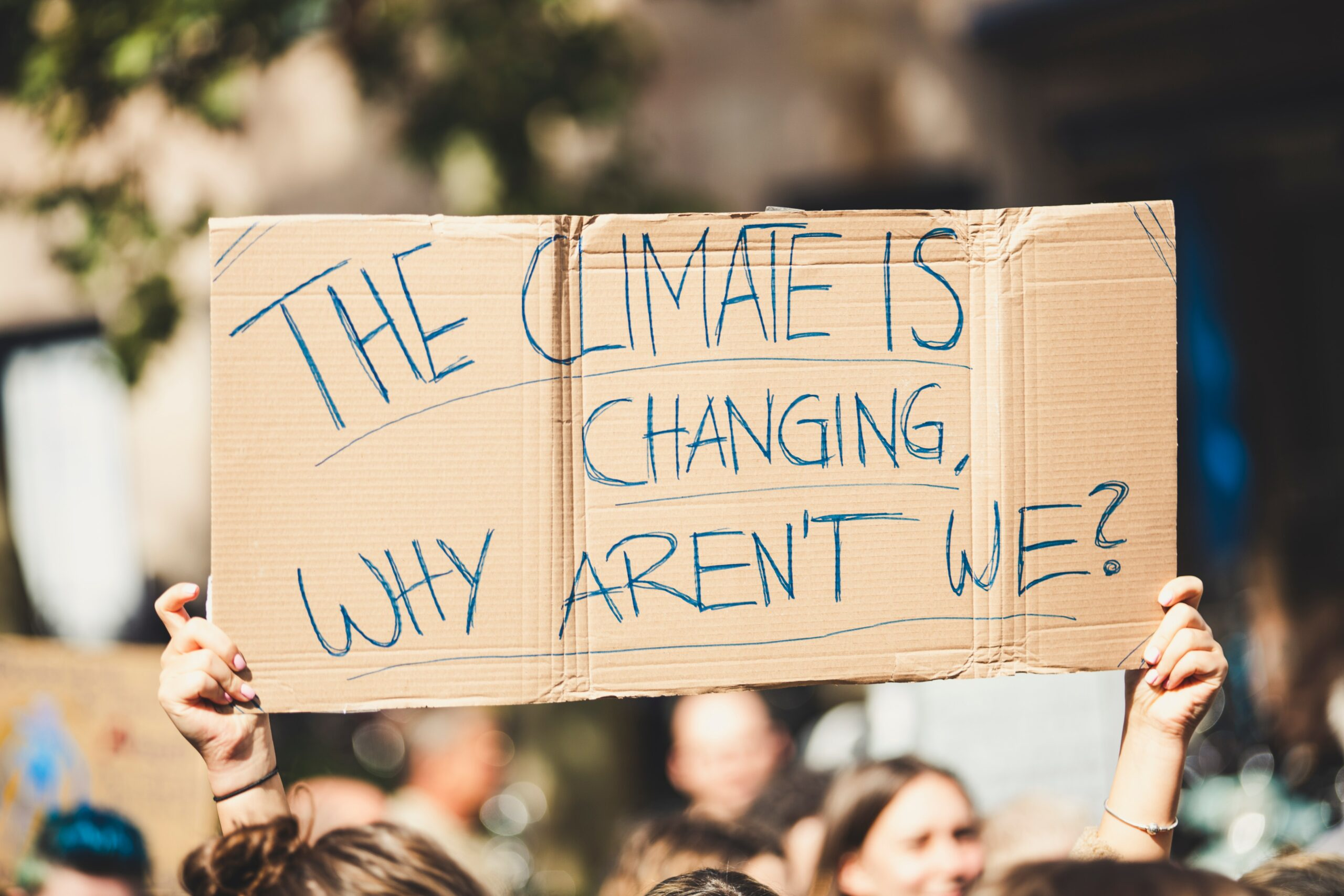 The climate is changing - why aren't we?